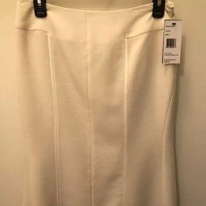 Lafayette 148 NY Skirt Sz4 in Cloud $398